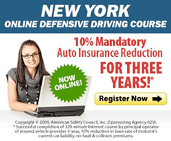 Defensive Driving Courses in NY
